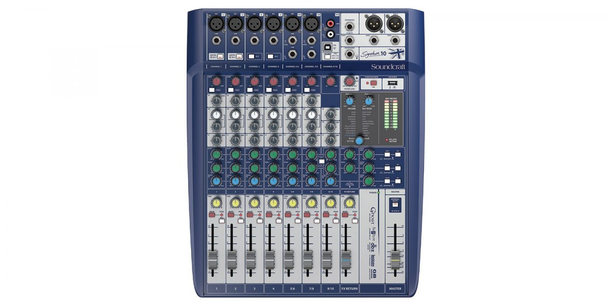SOUNDCRAFT Signature 10 - mikser analogowy