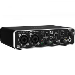 BEHRINGER - Interfejs audio USB UMC202HD